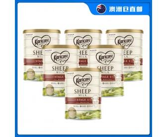 【澳洲直邮包邮】Karicare 可瑞康 绵羊奶三段 900克x6罐/箱(12个月+适用)