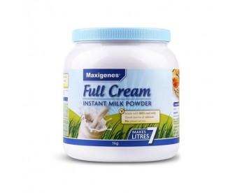 【15天必达】【新西兰直邮包邮】Maxigenes 美可卓 全脂成人牛奶粉 1公斤/罐【奶粉订单收件人必须上传】