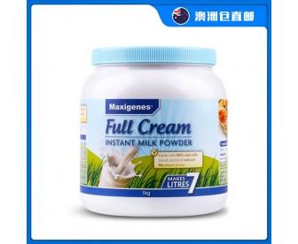 【澳洲直邮包邮】Maxigenes 美可卓 全脂成人牛奶粉 1公斤/罐(3岁以上适用)