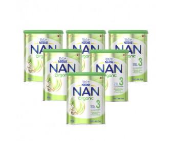 【新西兰直邮包邮】Nestle 雀巢 能恩有机益生菌配方婴幼儿奶粉2段 800克x6罐/箱(12个以上月适用)【奶粉订单收件人身份证号必填】