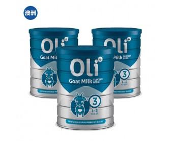 【澳洲直邮包邮】Oli6 颖睿 婴幼儿配方羊奶粉三段 800克x罐/箱(新疆、西藏地区不发货)