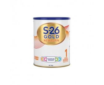 【新包装】【新西兰直邮包邮】Wyeth 惠氏 S26金装奶粉1段 900克/罐(0-6个月适用)【奶粉订单收件人身份证号必填】