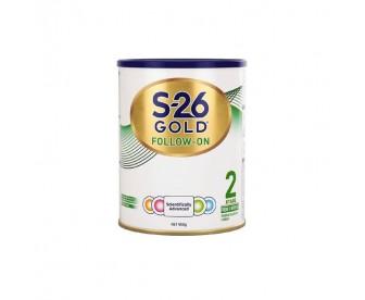 【新包装】【新西兰直邮包邮】Wyeth 惠氏 S26金装奶粉2段 900克/罐(6-12个月适用)【奶粉订单收件人身份证号必填】