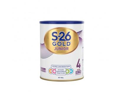 【新包装】【新西兰直邮包邮】Wyeth 惠氏 S26金装奶粉4段 900克/罐(2岁+)【奶粉订单收件人身份证号必填】