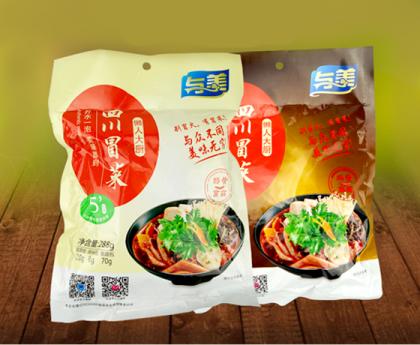 与美四川冒菜288克袋装开水冲泡方便素食冒菜