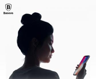 【苹果X提供贴膜服务】倍思全屏覆盖超清抗蓝光钢化膜