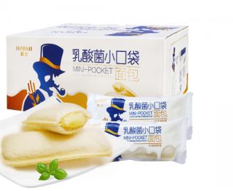 豪士乳酸菌口袋面包680g