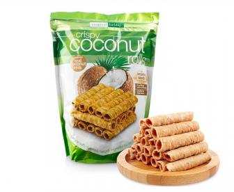 超好吃的椰子卷零食