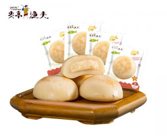 【新品到货】炎亭渔夫 芝士奶香鳕鱼饼180g 爆浆即食海鲜休闲鳕鱼肠零食品特产