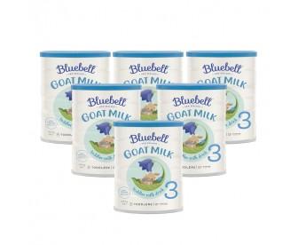 【新西兰直邮包邮】Bluebell 婴幼儿配方羊奶粉3段 800克x6罐(12月以上适用)【奶粉订单收件人身份证必需上传】