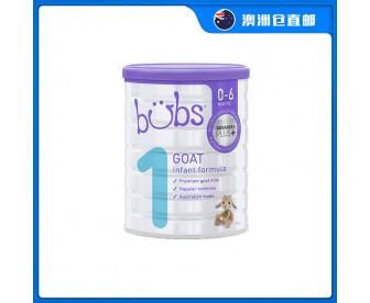 【澳洲直邮包邮】Bubs 婴儿山羊配方奶粉1段 800克/罐(0-6个月适用)