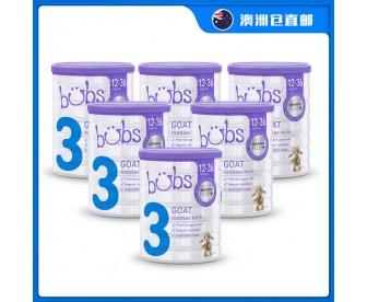 【澳洲直邮包邮】Bubs 婴儿山羊配方奶粉3段 800克x6罐/箱(1-3岁适用)