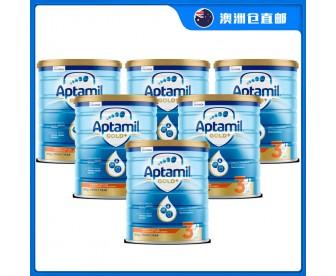 【澳洲直邮包邮】Apatmil 爱他美 金装3段 900克x6罐/箱(12个月+)