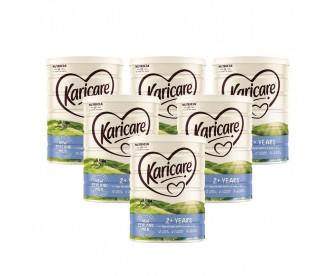 【新西兰直邮包邮】Karicare 可瑞康 婴幼儿奶粉普通装4段 900克x6罐/箱(2岁+)(保质期:2021.09)【奶粉订单收件人身份证号必填】