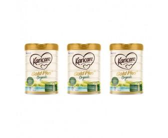 【新西兰直邮包邮】Karicare 可瑞康 有机牛奶粉1段 900克x3罐/箱(0-6个月)【奶粉订单收件人身份证必需上传】