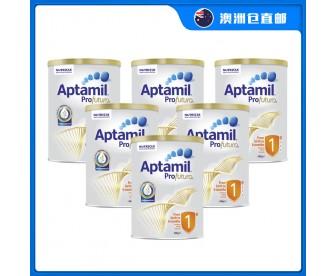 【澳洲直邮包邮】Aptamil 爱他美 白金版1段 900克x6罐/箱(0-6个月)