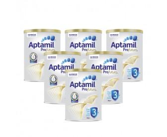 【新西兰直邮包邮】Aptamil 爱他美 白金版3段 900克x6罐/箱(1岁+)【奶粉订单收件人身份证号必填】