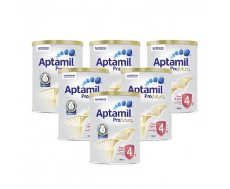 【新西兰直邮包邮】Aptamil 爱他美 白金版4段 900克x6罐/箱(3岁+)【奶粉订单收件人身份证号必填】