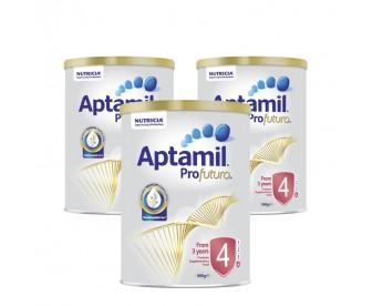 【新西兰直邮包邮】Aptamil 爱他美 白金版4段 900克x3罐/箱(3岁+)【奶粉订单身份证必须上传】