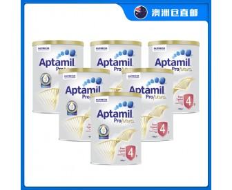 【澳洲直邮包邮】Aptamil 爱他美 白金版4段 900克x6罐/箱(3岁+)